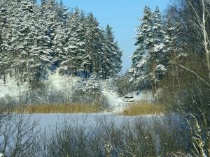 POČASÍ NA SOBOTU: Jasno a teploty hluboko pod nulou