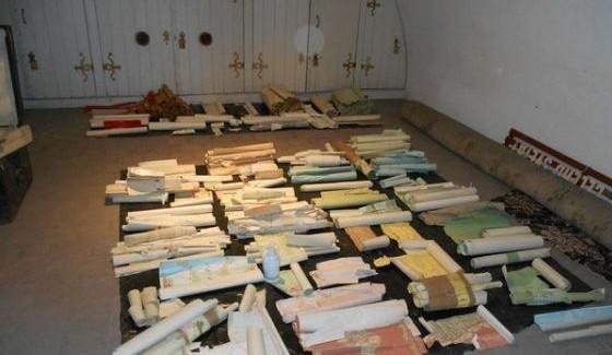Na zámku v Opočně našli poklad, vzácné tapety z 19. století