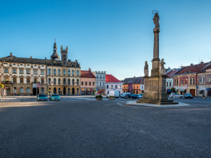 Hořice opraví náměstí v centru města. Z vlastní kapsy zaplatí devět milionů korun