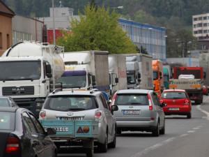 Pokud zavře Polsko hranice, bude Náchod zastavovat kamiony už před vjezdem do města
