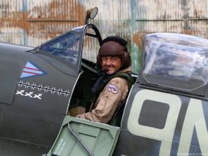 Pilotovat ikonickou stíhačku Spitfire je velká zodpovědnost a pocta, říká Jiří Horák