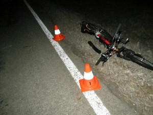 Cyklista se těžce zranil po srážce se srnou. Skončil v nemocnici
