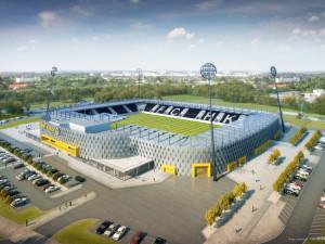 Komise doporučila vítěze tendru na stavbu fotbalového stadionu. Smlouvu sním radnice podepsat nemůže