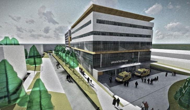 Nemocnice v Rychnově nad Kněžnou má zelenou. Díky stavebnímu povolení může začít rekonstrukce