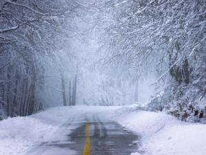 Meteorologové vydávají varování před sněhem. Pro část kraje platí od dnešní půlnoci