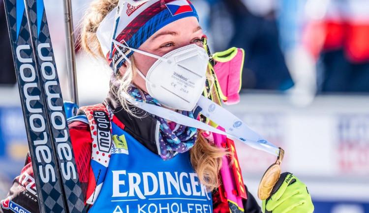 Neumím se moc chválit a chlubit, hodnotí uplynulou sezonu biatlonistka Markéta Davidová