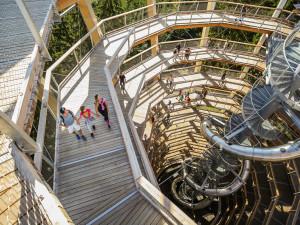 Zítra otevírá Stezka korunami stromů Krkonoše. Vláda ji uzavřela na konci minulého roku