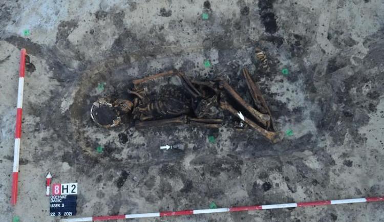 Archeologové našli na východě Čech unikátní pohřebiště