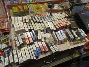 Celníci v regionu provedli kontrolu. Zajistili 16 tisíc cigaret bez povinného kolku