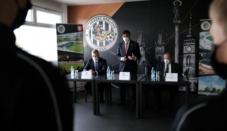 V Hradci Králové vznikne Regionální fotbalová akademie. Fungovat bude od září