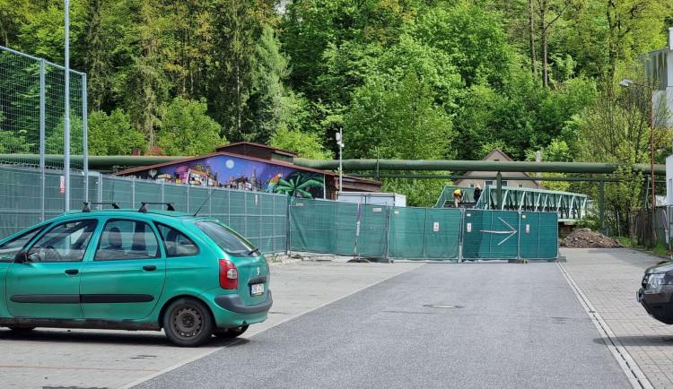 V Náchodě začal růst skatepark. Jeho stavba částečně omezí dopravu