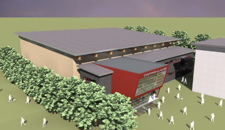 V Dobrušce vzniká nová sportovní hala za sto milionů. Místním sportovcům doteď chyběla