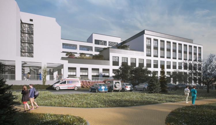 Rekonstrukce rychnovské nemocnice je závislá na penězích od vlády. Stát je slíbil před šesti lety