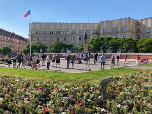 Hradec Králové opět demonstroval. Oproti poslední akci byla účast viditelně slabší