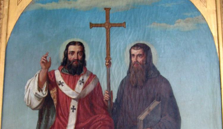 Státním svátkem si dnes připomínáme Cyrila a Metoděje. Přestože 5. červenec s jejich životem nemá souvislost
