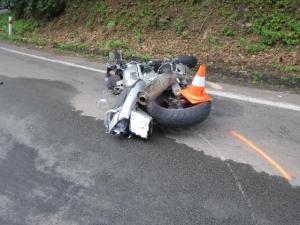 V Potštejně zemřel motorkář po střetu s dodávkou. V tomto týdnu jde o třetí smrtelnou nehodu v kraji