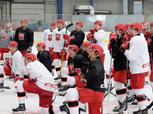 Hradečtí hokejisté vyrazili na první společný trénink i s novými posilami