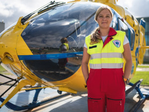 Jako matce se mi u dětí zasahuje mnohem hůř, říká letecká záchranářka Jiřina Petrová