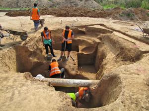 Archeologové objevili u Smiřic na Hradecku dvě pravěká sídliště