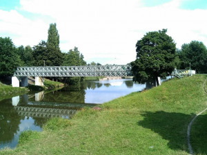 Železný most přes Orlici na Slezském Předměstí čeká generální oprava. Během rekonstrukce bude uzavřen