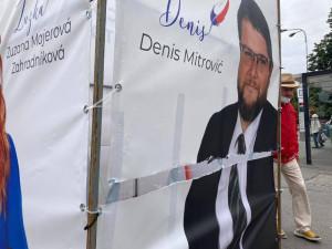 Volební kampaň v hradeckém kraji je zatím bez komplikací. Policie řešila především drobnosti