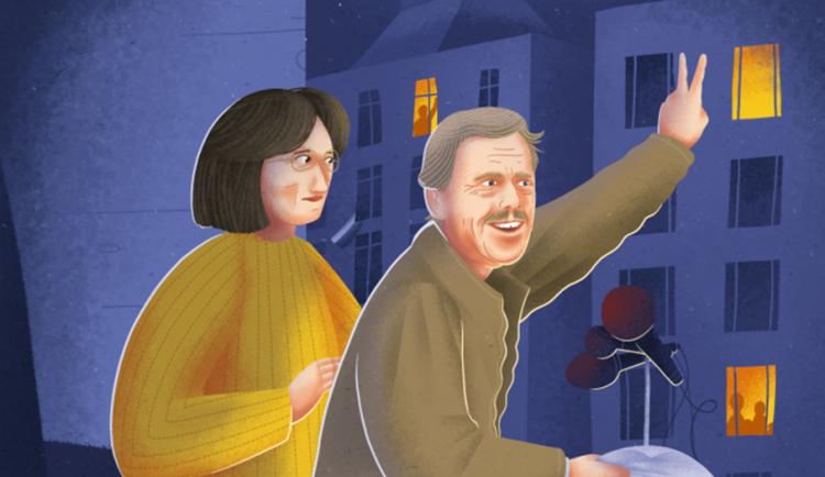 Václav Havel by dnes oslavil 85. narozeniny. S aplikací Skryté příběhy se v Trutnově můžete vydat po jeho stopách