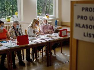 VOLBY 2021: Volební místnosti jsou otevřené. V Královéhradeckém kraji vybíráme z 271 kandidátů