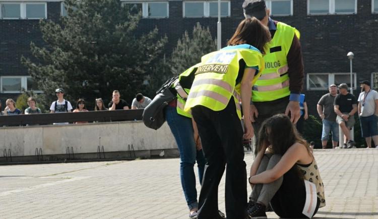 FOTO: Do Kongresového centra Aldis vnikli teroristé. Naštěstí jen v rámci cvičení