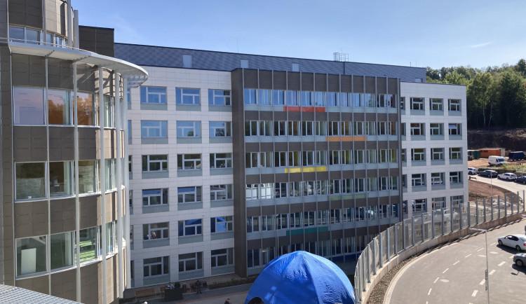 GALERIE: Nové pavilony nemocnice v Náchodě