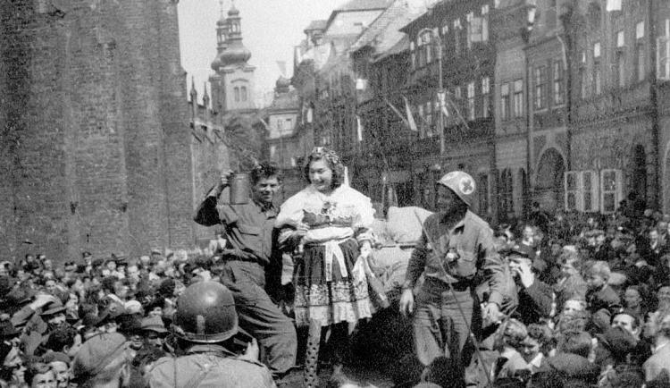 GALERIE: Jak vypadal konec II. světové války v Hradci Králové